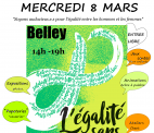 Journée internationale des femmes à Belley